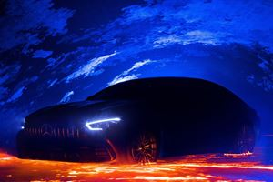 Mercedes-AMG GT Four-Door Coupe Final Teaser Image Is Fiery Awesome