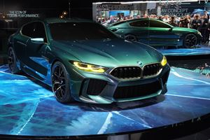 BMW Makes Us Envious With Green Concept M8 Gran Coupe