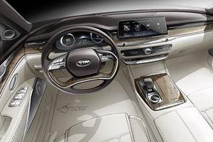 Kia K900 Interior Could Easily Be Mistaken For Audi Design