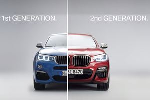 New BMW X4 Vs. Old BMW X4: Check Out All Of Design Changes