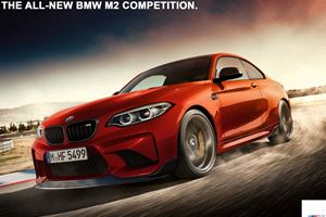 The 410-HP BMW M2 Competition Has A Potential Reveal Date