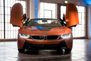 2019 BMW i8 Roadster Front View