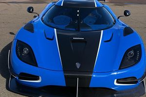 Two-Tone Blue Koenigsegg Agera RSN Is A One-Off Beauty