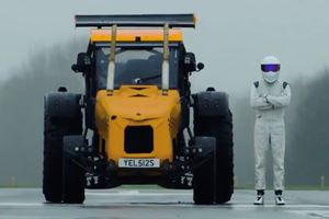The Stig Sets World Speed Record In A Tractor