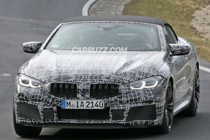 The BMW M8 Convertible Is Already Testing At The Nurburgring