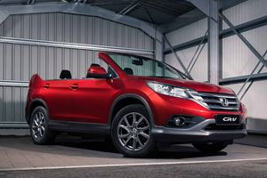 Honda CR-V Roadster Launches In Dealerships