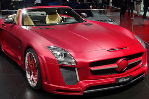 FAB Design Jetstream SLS AMG Roadster Wows the Crowds at Geneva