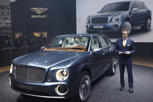 Bentley Chose an SUV Over a New Sports Car
