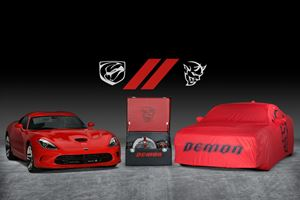 Last Dodge Challenger SRT Demon And Viper Being Auctioned For Charity