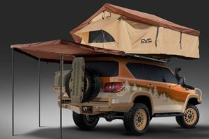 Nissan Gives Armada Full Dude-Bro Overland Treatment