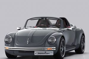 Memminger Roadster 2.7 Is A Modern Take On The Classic VW Beetle