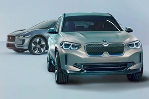 BMW Concept iX3 Arrives With 249-Mile Range To Battle Jaguar I-Pace