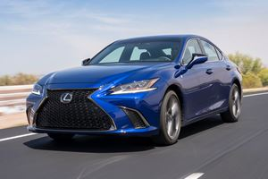2019 Lexus ES Revealed With F Sport Model To Rival BMW 5 Series