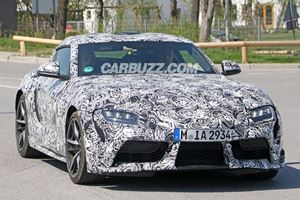 Check Out The Wheels On The New Toyota Supra!