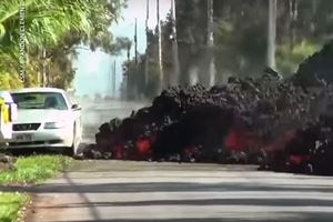 Watch Molten Lava Devour A Ford Mustang In Hawaii