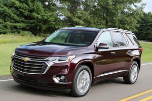 Best Minivan Alternatives Of 2018: Chevrolet Traverse