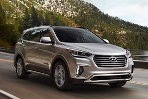 Best Minivan Alternatives Of 2018: Hyundai Santa Fe