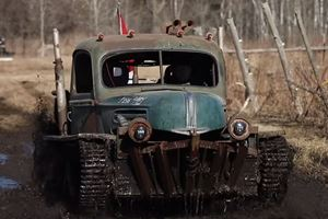 This Guy Built An Off-Road Toy From An Old WW2 Tank And A Chevy V8