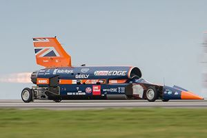 Bloodhound SSC To Attempt New Land Speed Record Next Year