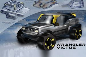 Jeep Asked High School Students To Submit Designs For The 2030 Wrangler