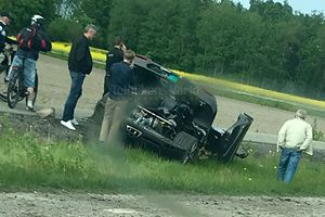 One-Off Koenigsegg Agera RS Gryphon Crashes For A Second Time