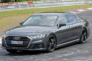2019 Audi S8 Spied Getting Sideways At The Nurburgring
