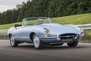 Electric Jaguar E-Type Has Better Performance, Same Range As Gas Model
