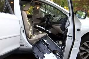 This Is What Happens When A Bear Gets Stuck Inside A Subaru