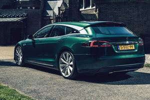 Tesla Model S Transformed Into Stunning Shooting Brake