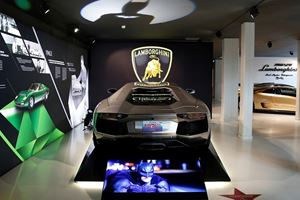 Hollywood's Most Famous Lamborghinis Now On Display In Italy