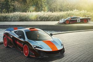 McLaren 675LT Gets Iconic F1 GTR Longtail Livery