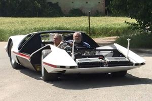 Pininfarina's Ferrari Modulo Hits The Road For The First Time