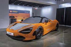 Full-Sized Lego McLaren 720S Goes On Display