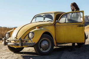 Transformers Bumblebee Trailer Trades Chevy Camaro For VW Bug