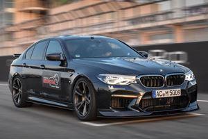 AC Schnitzer BMW M5 Sets Sachsenring Lap Record