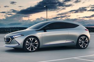 The Mercedes-Benz EQA Concept Looks Damn Good Driving In Sicily