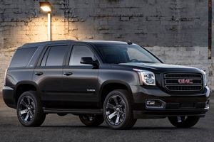 GMC Yukon Gets Murdered-Out Graphite Editions