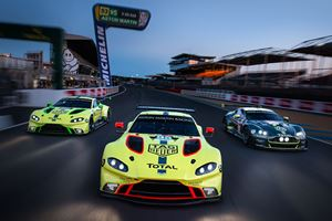 The Aston Martin Vantage GTE Will Race At Le Mans This Weekend