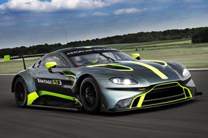 Aston Martin Reveals New Vantage GT3 & GT4 At Le Mans