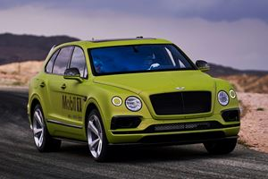 Bentley Bentayga Gets Roll Cage And Akrapovic Exhaust For Pikes Peak