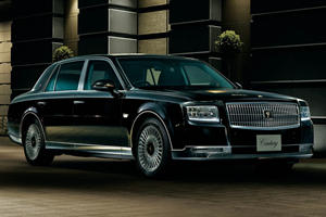 The New $200,000 Toyota Century Is More Luxurious Than Any Lexus