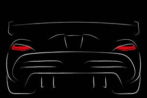 Koenigsegg Agera Successor Shown For The First Time In Teaser Sketch