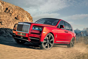 Rolls-Royce Rules Out Smaller Cullinan SUV