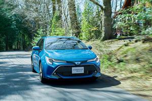 Toyota Corolla Hatchback Gets New Turbo Sport Model In Japan
