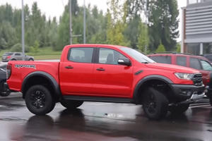 Here's Proof The Ford Ranger Raptor Is Coming To America