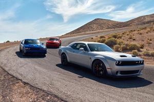 2019 Dodge Challenger Hellcat Ups The Ante With 797 Horsepower Redeye
