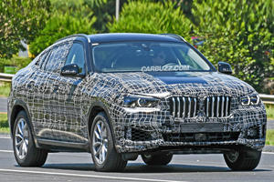 The 2019 BMW X6 Spied Looking A Lot Less Ugly