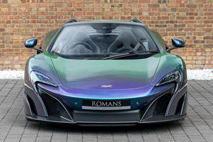 Rare McLaren 675LT Spider Sports One-Of-A-Kind Paint Job