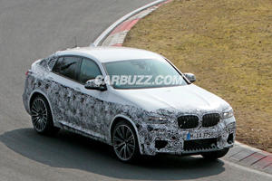 Listen To The BMW X4 M Test Its New Engine On The Nurburgring