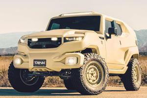 Rezvani Tank Military Edition Literally Ready For Battlefield Duty